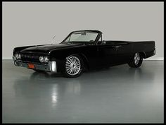 1964 Lincoln Continental - I went to my senior prom in this ride!  His dad owned the dealership...