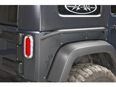 OR-FAB Rear Quarter Armor with Rock Slider for 07-15 Jeep® Wrangler Unlimited JK 4 Door