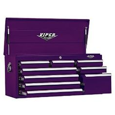 Viper Tool Storage V4109PUC 41-Inch 9 Drawer Top Chest, Purple: Home Improvement