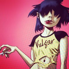 Noodle is the official lead guitarist of the Gorillaz. She was born in Osaka, Japan on October 31, 1990. As of the events of the El Mañana Incident, she had disappeared for approximately four years. However, she was seen on the cruise liner M. Harriet, which was subsequently attacked by pirate jets and sunk. Noodle was seen fleeing in a yellow dingy, where she is last seen with a gigantic Russel, and is assumed to be on her way to the Plastic Beach. During her absence, her position as the...