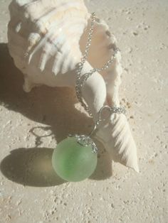 Sea Glass,Sea Glass Necklace/Beach Glass Necklace by Beachist, $19.00