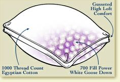 Prestige Pillow - firm - Pacific Coast Feather Company. I am a stomach sleeper, I think this would be divine!