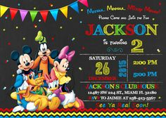 Mickey Mouse Clubhouse De Mickey Mouse Clubhouse Invitación