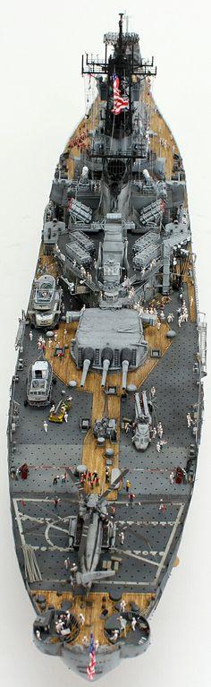 USS NEW JERSEY 1/350 by Gmmk11