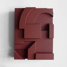 Viewpoint, a piece in the Strebelle Series by Emily Forgot. Wall Sculptures, Sculpture Art, Arte Madi, Interior Design Shows, Museum Shop, Installation Art, Modern Art, Abstract Art, Abstract Landscape