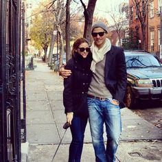 The Olivia Palermo Lookbook : Olivia Palermo with Johannes Huebl in NYC