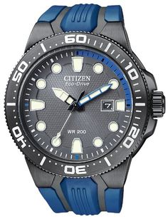 Citizen Men's BN0097-02H Scuba Fin Eco-Drive Scuba Fin Diver's Watch: Watches: Amazon.com