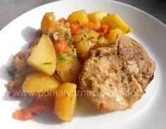 Vepřová krkovice na bramborách v pomalém hrnci Potato Salad, Food And Drink, Potatoes, Ethnic Recipes, Ph, Instant Pot, Potato