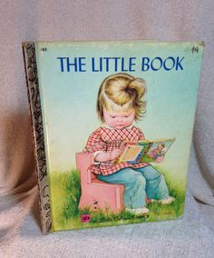 A personal favorite from my Etsy shop https://www.etsy.com/listing/219924942/the-little-book-golden-book-1974
