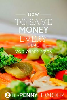 If you love pizza as much as we do, you're probably wondering how to save money on your favorite food. Luckily, the best pizza deal of all works at just about any restaurant you'll find. - The Penny Hoarder http://www.thepennyhoarder.com/pizza-deal-math/