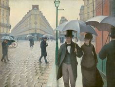 Gustave Caillebotte French, 1848-1894 Paris Street; Rainy Day, 1877 Art Institute of Chicago