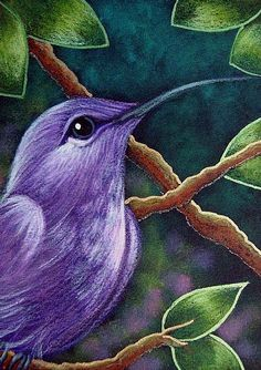 home decor diy Pastel Artwork, Oil Pastel Paintings, Oil Pastel Art, Oil Pastel Drawings, Bird Drawings, Art Drawings Sketches, Oil Pastels, Hummingbird Painting, Easy Canvas Art