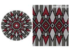 PATTERN: GEOMETRY- Set of wayuu mochila patterns – wayuu bag pattern- mochila bag pattern – tapestry crochet pattern – CHARTED pattern – Knitting patterns, knitting designs, knitting for beginners. Crochet Pillow, Crochet Art, Crochet Crafts, Tapestry Crochet Patterns, Crochet Stitches, Knitting Patterns, Loom Beading, Beading Patterns, Mochila Crochet