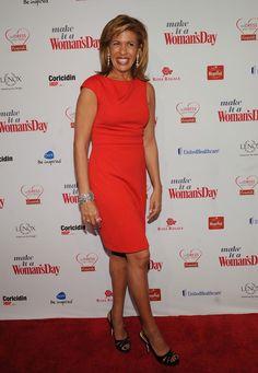 """Hoda Kotb Photo - 2012 """"Woman's Day"""" Red Dress Awards"""