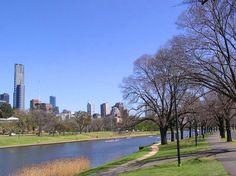 The Yarra River, Melbourne, Victoria Melbourne Victoria, Places To Visit, Australia, River, Rivers