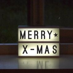 Lightbox Quotes, Licht Box, Design3000, Shops, A5, Home Deco, Letter Board, Christmas, Boards