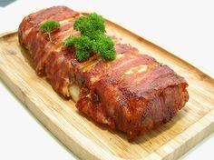 Kartoffelgratin svøbt i bacon – Grill venner