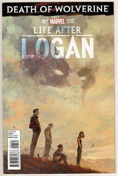 Death of Wolverine Life After Logan #1 Julian Tedesco Variant