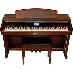 The new Suzuki CTP-88 Classroom Piano might as well be described as a computer with keys. The level of technology packed into the compact yet beautiful wood grain cabinet is nothing short of amazing. ...