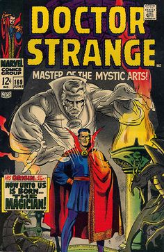 Doctor Strange (Marvel, CGC FN/VF White pages. First appearance of Doctor Strange in his own - Available at Sunday Internet Comics Auction. Superhero Books, Superhero Poster, Comic Book Superheroes, Marvel Comic Books, Comic Books Art, Comic Art, Heroes Comic, Comic Poster, Avengers Comics