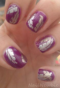 China Glaze Flying Dragon (Neon) + Stamping #nails #nailart   Nail Newbie Dragon Nails, China Glaze Nail Polish, Pedi, Hair Colors, Feathers, Stamping, Nailart, Nail Designs, Metal
