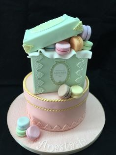 Laduree macaroons cakes - Cake by Galatia