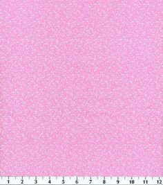 Keepsake Calico Fabric Etchings Vine Pink