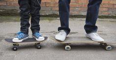 Faça você mesmo: skate de fibra de vidro. Conforme o skateboard aumentou sua popularidade e envolvimento desde 1960, o equipamento usado pelos skatistas tem mudado drasticamente. Apesar de existirem muitos fabricantes e modelos de shapes de skate hoje em dia, os skatistas começaram a desenvolver seus próprios shapes pessoais. Construir seu próprio skate é uma tarefa recompensadora, já que ...