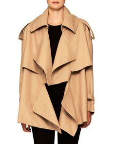 04734c29521 BURBERRY GABARDINE SHORT TRENCH COAT.  burberry  cloth   Short Trench Coat