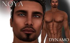 **NOYA** [70% SALE/PROMO] - DYNAMO - Male Model Avatar - PROMO+ - Love her beautiful and handsome model avatars/skins!