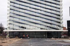 L'Hospitalet, Pza. Europa - Enero de 2014.