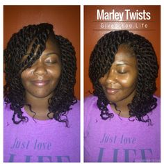 Xpress Crochet Braids : ... Hair Styles on Pinterest Twist updo, Kinky twists and Marley braids