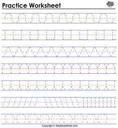 SCHOOL-Practice writing @ http://www.billybear4kids.com/worksheets/practice5.html