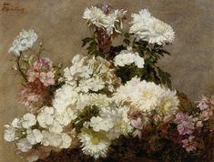 White Phlox Summer Chrysanthemum and Larkspur Art Painting for sale. Shop your favorite Henri Fantin-Latour White Phlox Summer Chrysanthemum and Larkspur Art Painting at discount price. Henri Fantin Latour, Oil Painting Gallery, Art Gallery, Canvas Art Prints, Oil On Canvas, Tableau Pop Art, American Impressionism, Oil Painting Reproductions, Art Paintings
