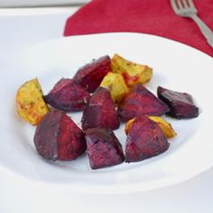 Spicy Lemon Thyme Roasted Beets