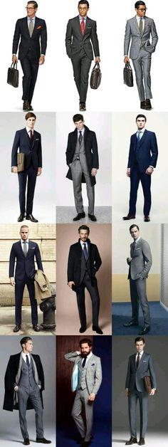 Outfit hombre #traje