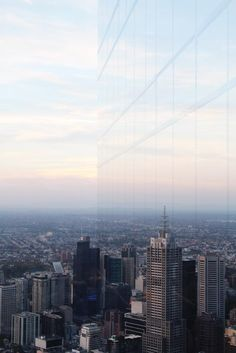 le fabuleux destin: melbourne | from above - view from eureka tower