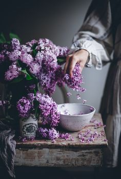 Lavender Aesthetic, Purple Aesthetic, All Flowers, Beautiful Flowers, Beautiful Pictures, Call Me Cupcake, Favorite Color, Herbalism, Bouquet
