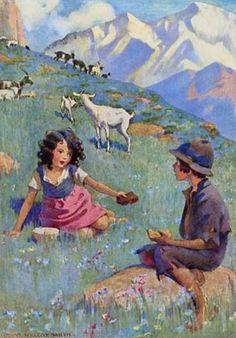 ~*♥♥*~~*♥♥*~ American Illustration, Children's Book Illustration, Book Illustrations, Vintage Children's Books, Vintage Art, Jessie Willcox Smith, Wow Art, Illustrators, Fairy Tales