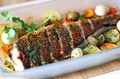 PANELATERAPIA - Blog de Culinária, Gastronomia e Receitas: Peixe Assado à Moda de Arraial