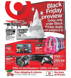 Target 2015 Black Friday Ad...check out the 40 pages of #BlackFriday deals.