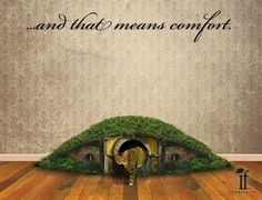 Cat Hobbit Hole. Def having one of these