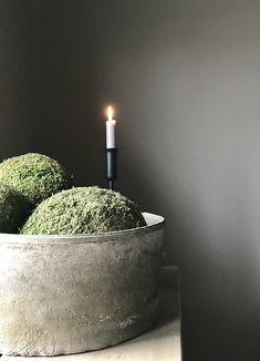 Schaal met mosballen kandelaar Belgian Style, Country Style, Home Accessories, Diana, Sweet Home, Home And Garden, Interior, Holland, Autumn