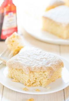 Use buttermilk to whip up this extra fluffy vanilla cake.