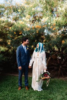 The eclectic boho wedding of Emma and Bryan