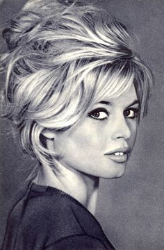 It almost goes with out saying that Brigitte Bardot is a pop-way of life icon. The French actress, singer, and sex image became popular in the us within the Nineteen Fifties and and whilst her style and toothy smile… Continue Reading → Bridgitte Bardot, Anna Karina, Catherine Deneuve, Claudia Cardinale, Audrey Hepburn, Celebrities Hairstyles, Bardot Hair, Bardot Bangs, Look Dark