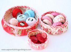 DIY Mother's Day : DIY Gathered Round Basket