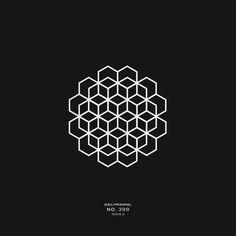 398 A new geometric design every day - Logos Geometric Logo, Geometric Designs, Geometric Drawing, Cool Optical Illusions, Pop Art Wallpaper, Geometry Art, Hexagon Pattern, Logo Design Inspiration, Mandala Design