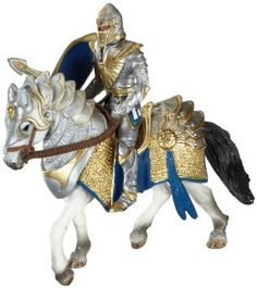 Schleich Griffin Knight on Horse With Lance: Amazon.co.uk: Toys & Games