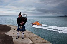 The crew of the RNLI Dun Laoghaire hold their annual ceremony to remember 15 volunteers that died on service on Christmas Eve 1895